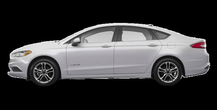 2018 Ford Fusion Hybrid SE   Photo 4   Ingot Silver