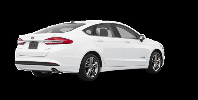 2018 Ford Fusion Hybrid SE   Photo 5   Oxford White