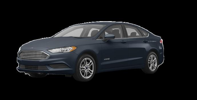 2018 Ford Fusion Hybrid SE   Photo 6   Blue Metallic