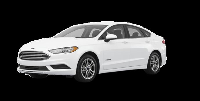 2018 Ford Fusion Hybrid SE   Photo 6   Oxford White