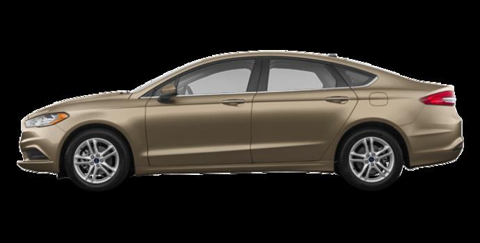 2018 Ford Fusion SE | Photo 4 | White Gold