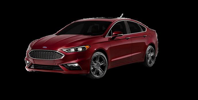 2018 Ford Fusion SPORT | Photo 6 | Burgundy Velvet