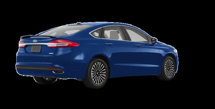 2018 Ford Fusion TITANIUM | Photo 5 | Lightning Blue