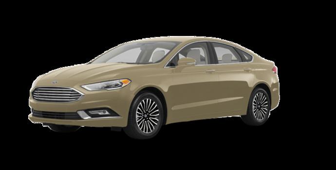 2018 Ford Fusion TITANIUM | Photo 6 | White Gold