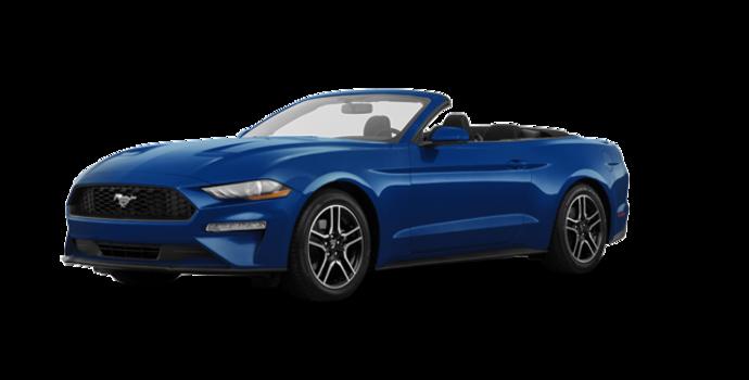 2018 Ford Mustang Convertible EcoBoost | Photo 6 | Lightning Blue Metallic