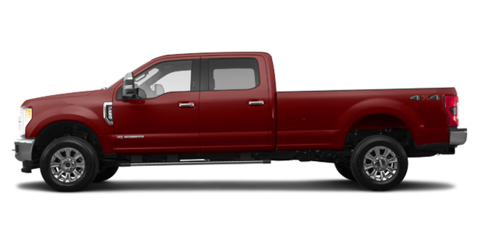 2018 Ford Super Duty F-250 KING RANCH   Photo 4   Magma Red