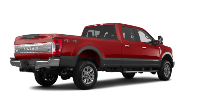 2018 Ford Super Duty F-250 KING RANCH   Photo 5   Ruby Red/Stone Grey