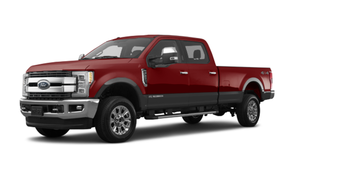 2018 Ford Super Duty F-250 KING RANCH   Photo 6   Magma Red/Stone Grey