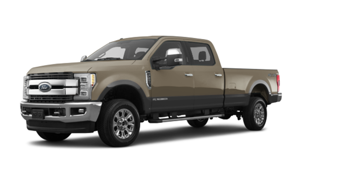 2018 Ford Super Duty F-250 KING RANCH   Photo 6   White Gold/Stone Grey