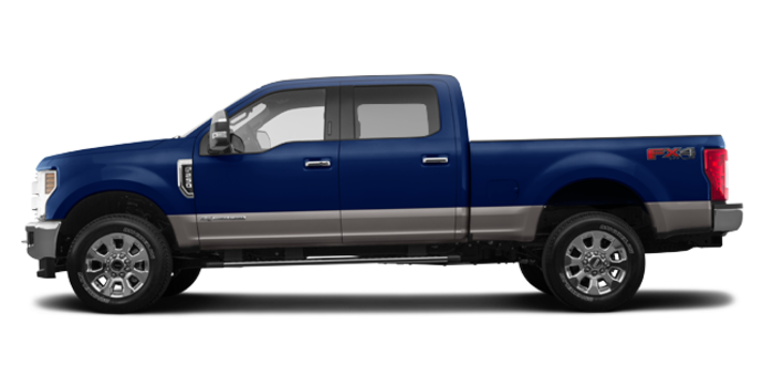 2018 Ford Super Duty F-250 LARIAT | Photo 4 | Blue Jeans /Stone Grey