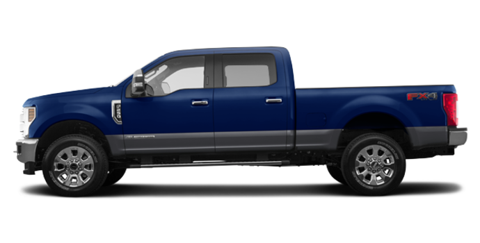 2018 Ford Super Duty F-250 LARIAT | Photo 4 | Blue Jeans/Magnetic