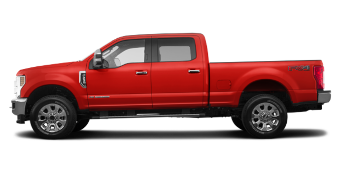 2018 Ford Super Duty F-250 LARIAT | Photo 4 | Race Red