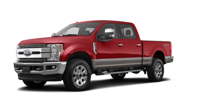 2018 Ford Super Duty F-250 LARIAT | Photo 6 | Ruby Red/Stone Grey