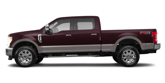 2018 Ford Super Duty F-350 LARIAT | Photo 4 | Magma Red/Stone Grey