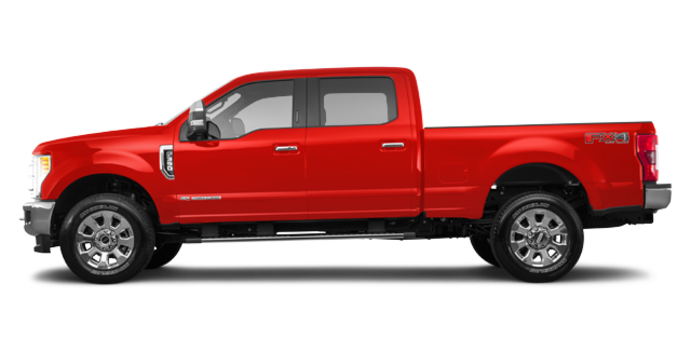 2018 Ford Super Duty F-350 LARIAT | Photo 4 | Race Red