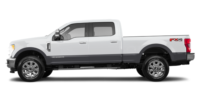 2018 Ford Super Duty F-350 LARIAT | Photo 4 | Oxford White/Magnetic