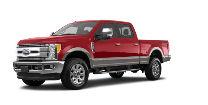 2018 Ford Super Duty F-350 LARIAT | Photo 6 | Ruby Red/Stone Grey