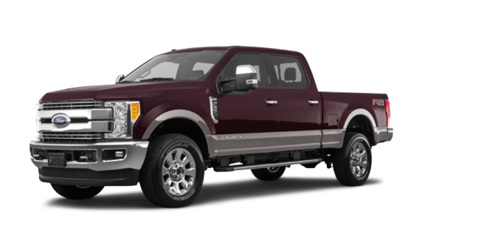 2018 Ford Super Duty F-350 LARIAT | Photo 6 | Magma Red/Stone Grey
