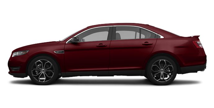 2018 Ford Taurus SHO | Photo 4 | Burgundy Velvet Metallic Tinted Clearcoat