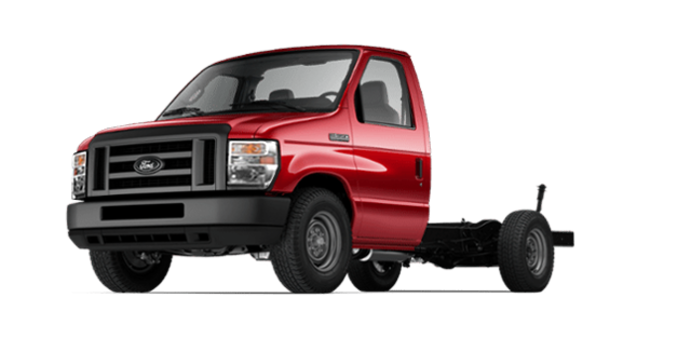 2018 Ford E-Series Cutaway 350 | Photo 4 | Race Red