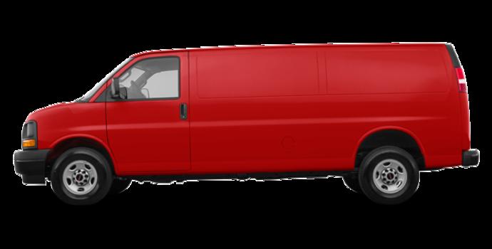 2018 GMC Savana 3500 CARGO | Photo 4 | Cardinal Red