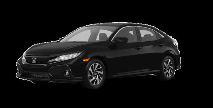 2018 Honda Civic hatchback LX HONDA SENSING | Photo 6 | Crystal Black Pearl