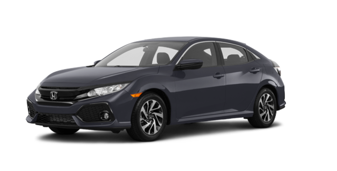 2018 Honda Civic hatchback LX HONDA SENSING | Photo 6 | Polished Metal Metallic
