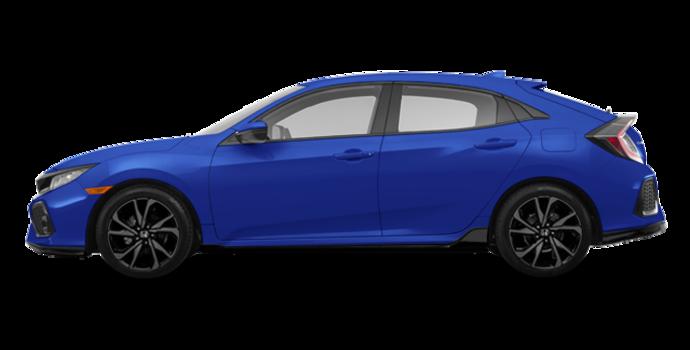 2018 Honda Civic hatchback SPORT HONDA SENSING | Photo 4 | Aegean Blue Metallic