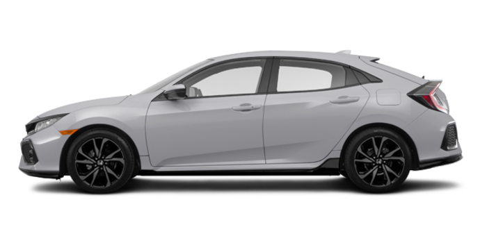 2018 Honda Civic hatchback SPORT HONDA SENSING | Photo 4 | Lunar Silver Metallic