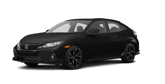 2018 Honda Civic hatchback SPORT HONDA SENSING | Photo 6 | Crystal Black Pearl