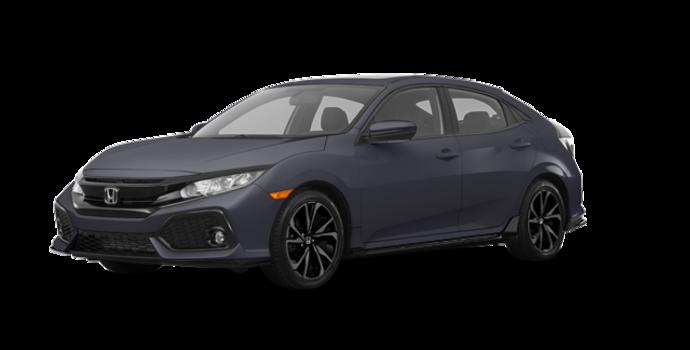 2018 Honda Civic hatchback SPORT HONDA SENSING | Photo 6 | Polished Metal Metallic