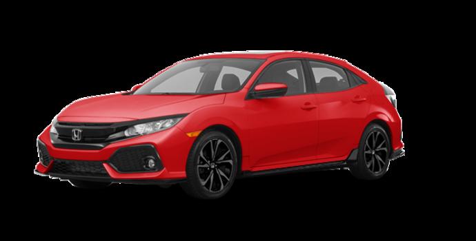 2018 Honda Civic hatchback SPORT HONDA SENSING | Photo 6 | Rallye Red