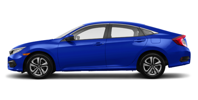2018 Honda Civic Sedan LX | Photo 4 | Aegean Blue Metallic