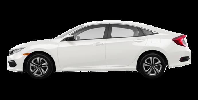 2018 Honda Civic Sedan LX | Photo 4 | Taffeta White