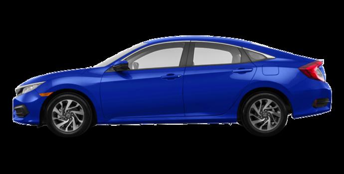 2018 Honda Civic Sedan SE | Photo 4 | Aegean Blue Metallic