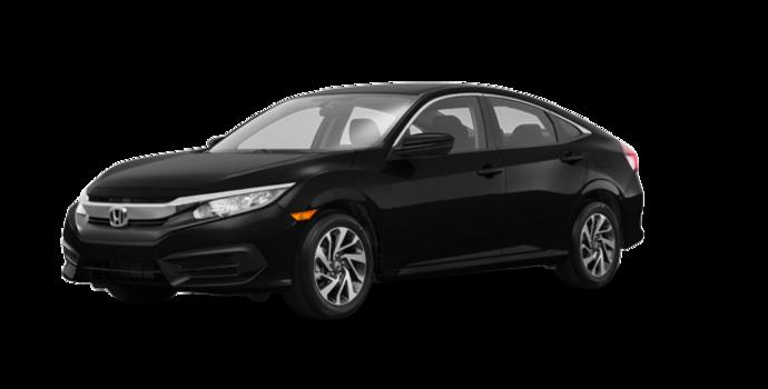 2018 Honda Civic Sedan SE | Photo 6 | Crystal Black Pearl