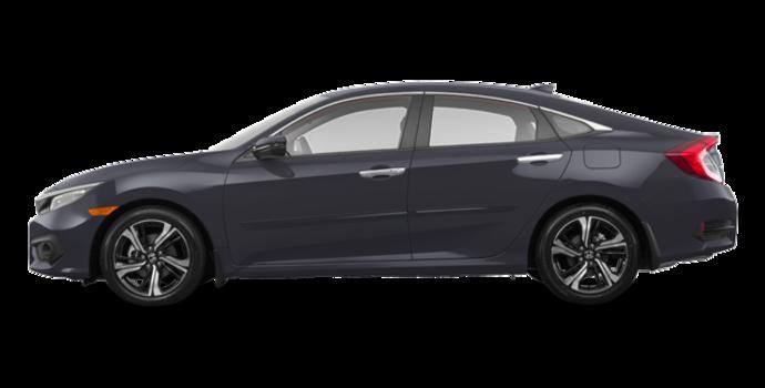 2018 Honda Civic Sedan TOURING   Photo 4   Modern Steel Metallic