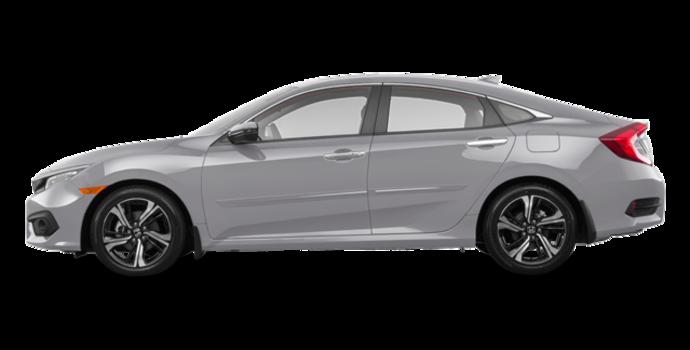 2018 Honda Civic Sedan TOURING   Photo 4   Lunar Silver Metallic