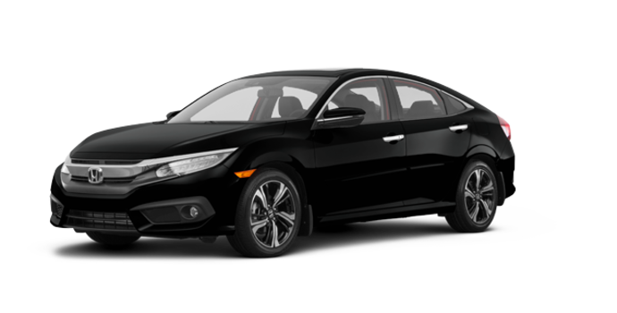 2018 Honda Civic Sedan TOURING   Photo 6   Crystal Black Pearl