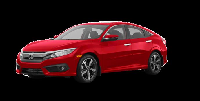 2018 Honda Civic Sedan TOURING   Photo 6   Rallye Red