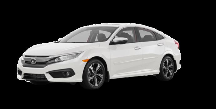 2018 Honda Civic Sedan TOURING   Photo 6   White Orchid Pearl