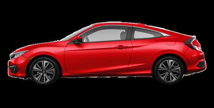 2018 Honda Civic Coupe EX-T HONDA SENSING   Photo 4   Rallye Red
