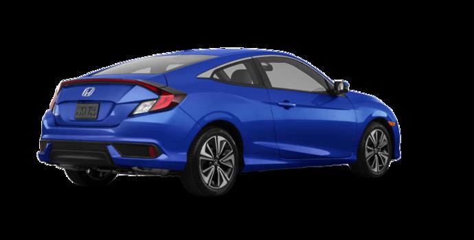 2018 Honda Civic Coupe EX-T HONDA SENSING   Photo 5   Aegean Blue Metallic
