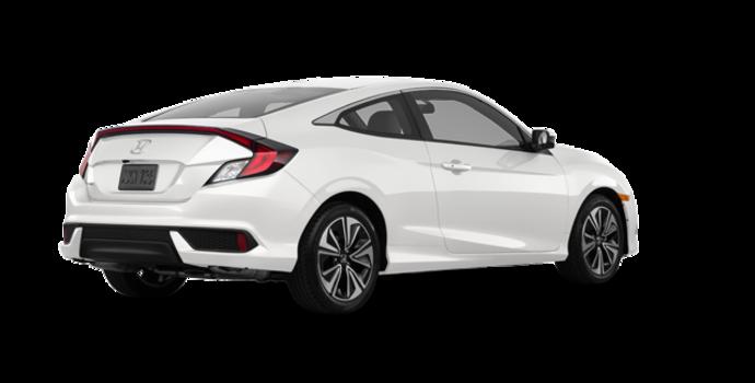 2018 Honda Civic Coupe EX-T HONDA SENSING   Photo 5   White Orchid Pearl