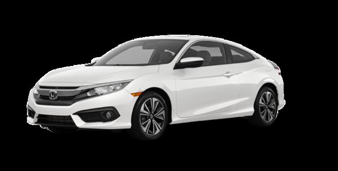 2018 Honda Civic Coupe EX-T HONDA SENSING   Photo 6   White Orchid Pearl