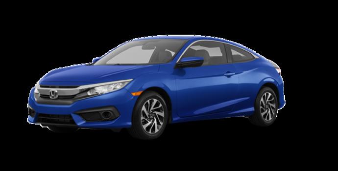 2018 Honda Civic Coupe LX-HONDA SENSING | Photo 6 | Aegean Blue Metallic