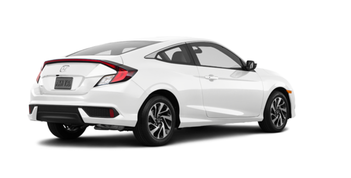 2018 Honda Civic Coupe LX   Photo 5   Taffeta White