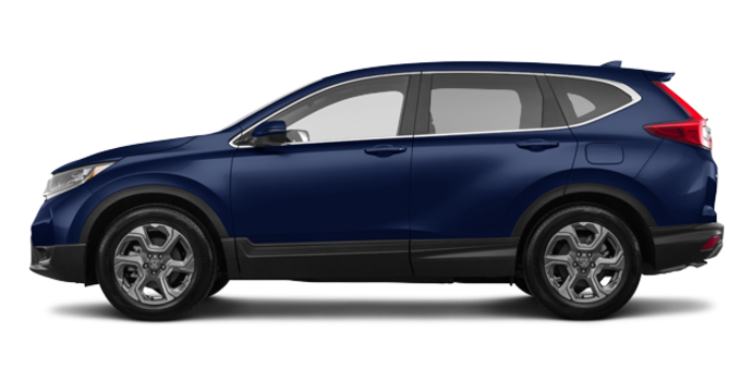 2018 Honda CR-V EX-L   Photo 4   Obsidian Blue Pearl