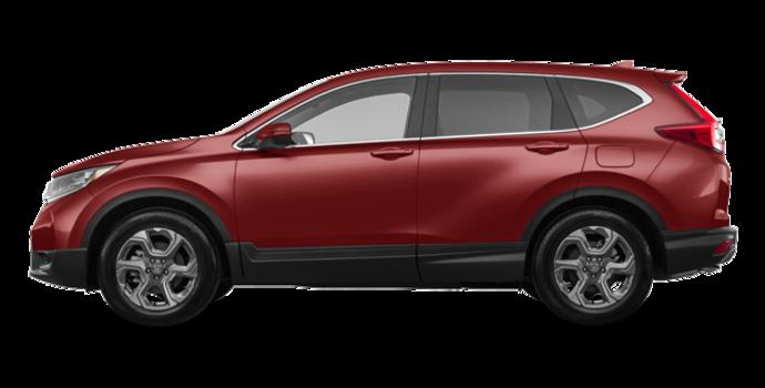 2018 Honda CR-V EX-L   Photo 4   Molten Lava Pearl