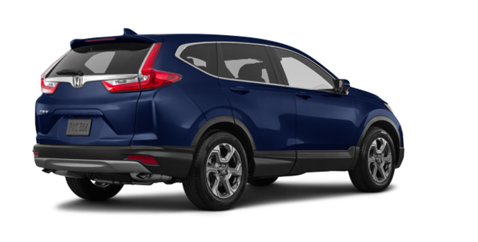 2018 Honda CR-V EX-L   Photo 5   Obsidian Blue Pearl